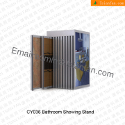 Metal Floor Tile Display Rack-CY036