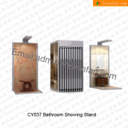 Metal Floor Tile Display Shelf-CY037