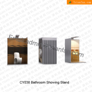 Bthroom Floor Tile Display Shelf-CY038