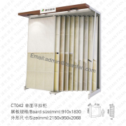 Ceramic Floor Tile Display Shelf-CT042