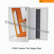 Ceramic Floor Tile Wall Display Rack-CT085