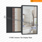 Ceramic wood display stand-CT086