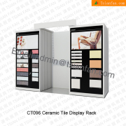 Floor Tile standing display Rack-CT096
