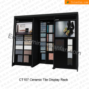 CT107 High Quality Floor Tile Display Shelf Factory