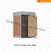 WT013 Stylish Wood Flooring Display Cabinet