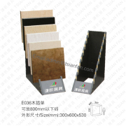 Wood Stone Display Stand Rack-E036