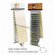 Stone Sample Display Rack-E069
