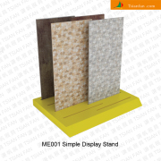 ME001 Mosaic Tile Slotted Wooden Display Stand