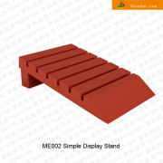 ME002 Tile Slotted Wooden Display Rack
