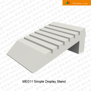 ME011 Ceramic Tile Wooden Display Table Tray
