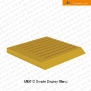 ME012 Ceramic Tile Wooden Display Table Tray