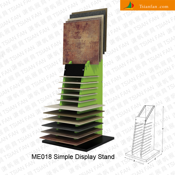 Simple Exhibition Stand Near Me : Stone display rack tile mosaic