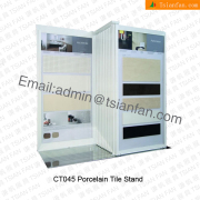 Metal Wall Tile Display Stand-CT045