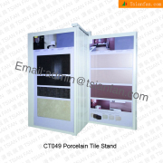 CT049 Wallpaper Showroom Display Stand