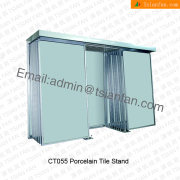 CT055 Floor Stand Bathroom Wall Tile Display Stand