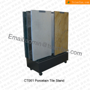 CT061 Retail Sliding Door Display Stand for Wall Tiles