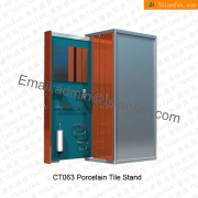 CT063 New Design Sliding Door Style Display Rack for Faucet