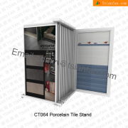 Metal Floor Tile Display Rack -CT064