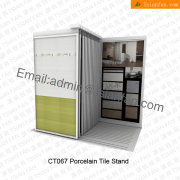 Bathroom Wall Tile Display Stand-CT067