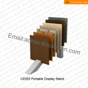 CE005 Portable Loose Tile Display Stand Manufacture