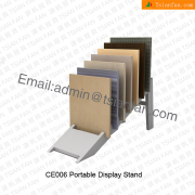 CE006 Metal Loose Tile Display Stand Factory