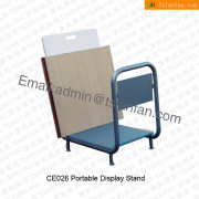 CE026 Portable Metal Display Stand for Ceramic tiles