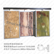 Building Tile Stone Display Stand Rack-SD002
