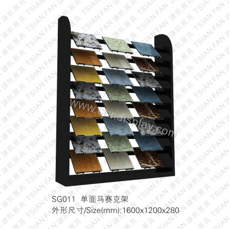 SG011 One Side Mosaic Type Rack