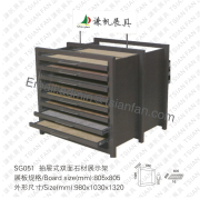 Stone Display Showing Rack-SG051
