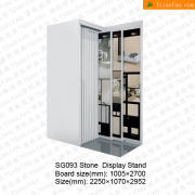 Slab Stone Booth Display Stand-SG093