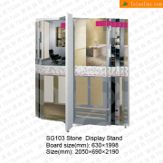 Stone Tile Showroom Display Rack-SG103