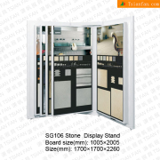 Showroom Stone Tile Display Racks-SG106