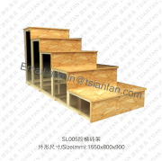 Stair Stone Tile Display Rack-SL005