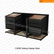 CX080 Display Stand With Sliding MDF Panels for Stone Ceramic Tile