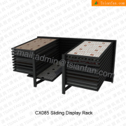 CX085 Factory Direct Sale Ceramic Tile Showing Display Stand