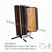 WF018 Hardwood Floor Display Rack