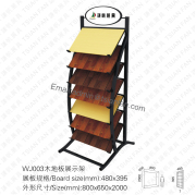 WJ003 Wooden Floor Display Rack