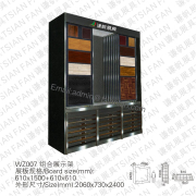 Wood Fooring Tile Display Rack-WZ007