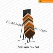 Wood Floor Tile Metal Display Rack-WJ021
